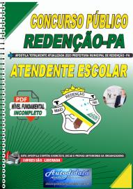 Apostila Digital Concurso Público Prefeitura de Redenção - PA 2020 Atendente Escolar
