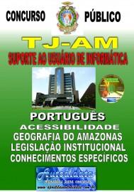 Apostila impressa TJ-AM 2019 - Tribunal de Justiça do Amazonas - Suporte ao Usuário de Informática