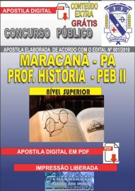 Apostila Digital MARACANÃ/PA 2019 - Professor Anos Finais – Peb II – História
