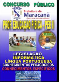 Apostila Impressa MARACANÃ/PA 2019 - Professor Anos Finais – Peb II – Educação Física