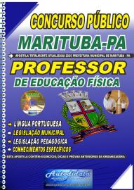 Apostila Impressa Concurso Público Prefeitura de Marituba - PA 2020 Professor de Educação Física