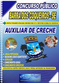 Apostila Impressa Concurso Público Prefeitura de Barra dos Coqueiros - SE 2020 Auxiliar de Creche