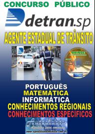 Apostila Impressa Concurso DETRAN - SP -  2019 - Agente Estadual De Trânsito