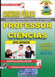 Apostila Digital Concurso - Prefeitura Municipal de Imperatriz - MA 2019 - Professor Ciências