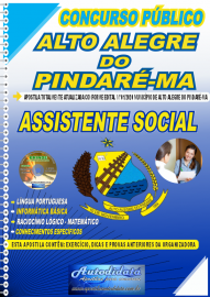 Apostila Impressa Concurso Público Alto Alegre do Pindaré - MA 2020 Assistente Social