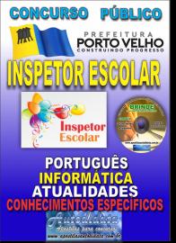Apostila Impressa Concurso de PORTO VELHO/RO 2019 – Inspetor Escolar
