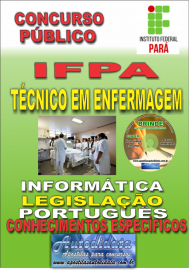 Apostila Impressa concurso IFPA 2019 – Técnico Em Enfermagem