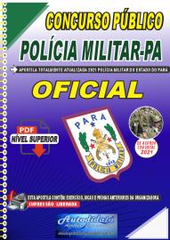 Apostila Digital Concurso Público Polícia Militar do Pará 2020 Área Oficial