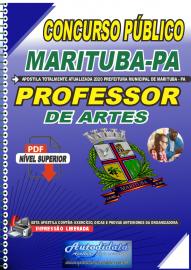 Apostila Digital Concurso Público Prefeitura de Marituba - PA 2020 Professor de Artes