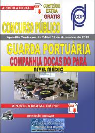 Apostila digital concurso público Companhia Docas do Pará - 2020 Nível Médio Guarda Portuária