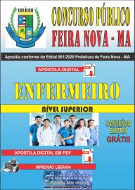 Apostila Digital Concurso Público Prefeitura de Feira Nova - MA 2020 Área Enfermeiro