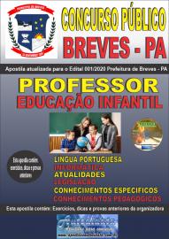 Apostila Impressa Concurso Público Prefeitura de Breves - PA 2020 Professor de Educação Infantil