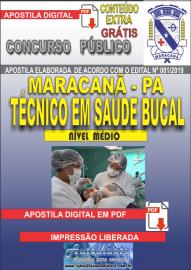 Apostila Digital Concurso de Maracanã/Pa 2019 – Técnico Em Saúde Bucal