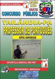 Apostila Digital TAILÂNDIA/PA 2019 - Professor De Português