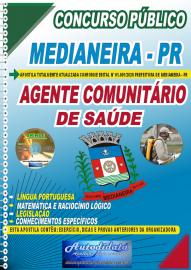 Apostila Impressa Concurso Público Prefeitura de Medianeira 2020 Agente Comunitário de Saúde