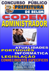 Apostila Digital Concurso do CODEM 2017 – Administrador