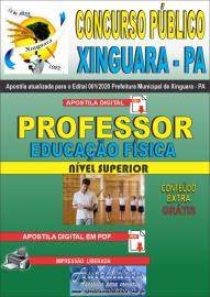 Apostila Digital Concurso Público Prefeitura de Xinguara - PA 2020 Professor de Educação Física