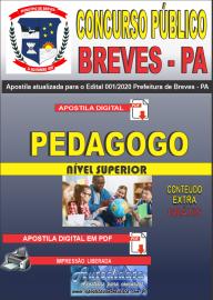 Apostila Digital Concurso Público Prefeitura de Breves - PA 2020 Pedagogo