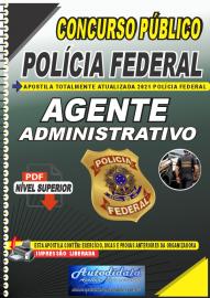 Apostila Digital Concurso Público Polícia Federal - Nacional - 2021 Agente Administrativo