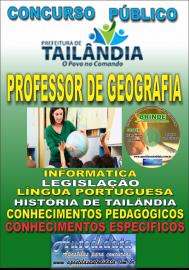 Apostila Impressa TAILÂNDIA/PA 2019 - Professor De Geografia