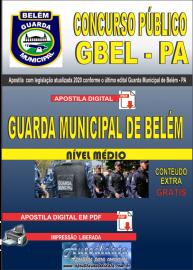 Apostila Digital Concurso Público Guarda Municipal de Belém - PA - GMB -2020 Guarda Municipal