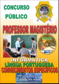 Apostila Impressa Processo Seletivo de URUARÁ/PA 2019 – Professor Magistério
