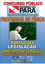 Apostila Digital Concurso SEDUC-PA 2018 - Professor de Física