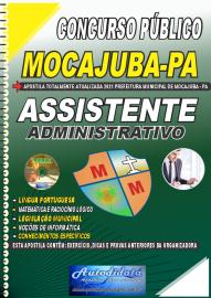 Apostila Impressa Concurso Público Prefeitura de Mocajuba - PA 2021 Assistente Administrativo