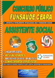 Apostila impressa concurso da Fundação Regional de Saúde Funsaúde-CEARÁ 2021 - ASSISTENTE SOCIAL