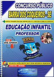 Apostila Digital Concurso Público Prefeitura de Barra dos Coqueiros - SE 2020 Professor de Educação Infantil