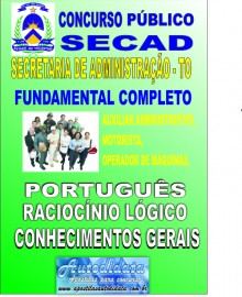 Apostila concurso da SECAD - TO - Nivel Fundamental