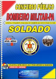 Apostila digital Concurso CORPO DE BOMBEIROS-PA - CBM-PA 2021 Soldado