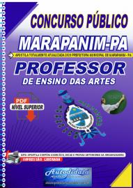 Apostila Digital Concurso Público Prefeitura de Marapanim - PA 2020 Professor de Ensino das Artes