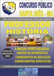 Apostila Impressa Concurso Prefeitura Municipal de Santa Inês - Maranhão 2019 Professor História