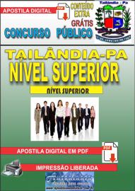 Apostila Digital TAILÂNDIA/PA 2019 - Nível Superior - Conhecimentos Gerais