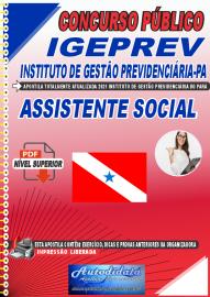 Apostila Digital Concurso IGEPREV-Instituto de Gestão Previdenciária-PA 2021 Assistente Social