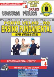 Apostila Digital Concurso de PORTO VELHO/RO 2019 – Nível Fundamental
