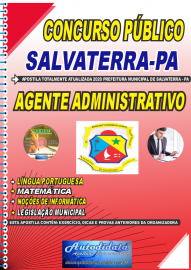 Apostila Impressa Concurso Público Prefeitura de Salvaterra - PA  2020 Agente Administrativo
