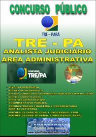 Aposstila Impressa Concurso TRE-PA - Analista Judiciário Área Administrativa