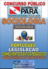 Apostila Impressa Concurso da SEDUC-PA 2018 - Professor de Sociologia