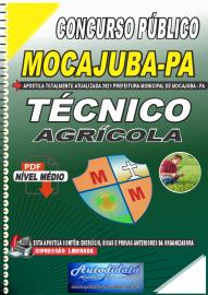 Apostila Digital Concurso Público Prefeitura de Mocajuba - PA 2021 Técnico Agrícola