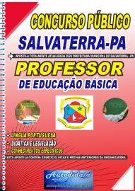 Apostila Impressa Concurso Público Prefeitura de Salvaterra - PA  2020 Professor de Educação Básica
