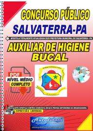 Apostila Digital Concurso Público Prefeitura de Salvaterra - PA  2020 Auxiliar de Higiene Bucal