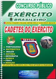 Apostila Impressa Concurso Público Escola Preparatória de Cadetes do Exército - 2020 Cadetes do Exército