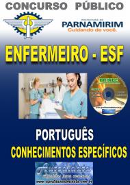 Apostila Impressa Concurso PARNAMIRIM – RN/2019 - Enfermeiro ESF
