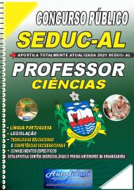 Apostila Impressa Concurso SEDUC - AL 2021 Professor de Ciências