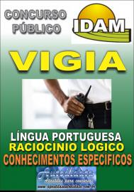 Apostila Impressa Concurso IDAM - AM 2018 - Vigia