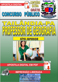 Apostila Digital TAILÂNDIA/PA 2019 - Professor De Geografia