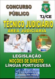 Apostila Impressa TJ-CE 2019 - Técnico Judiciário/Área Judiciária