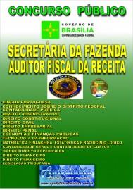 Apostila Impressa Concurso SEEC-DF 2019 Secretária da Fazenda Auditor Fiscal da Receita